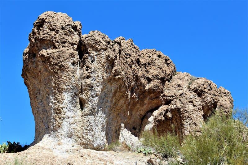 Boyce Thompson Arboretum State Park överman, Arizona Förenta staterna arkivfoto