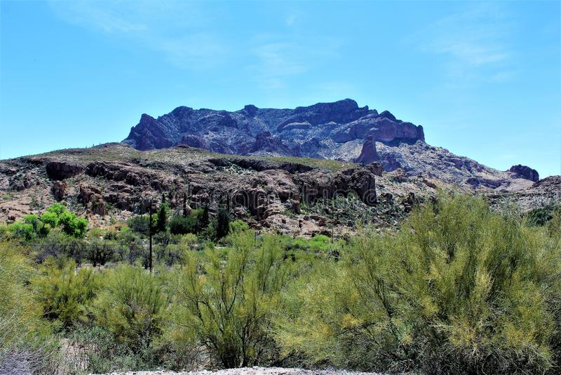 Boyce Thompson Arboretum State Park, supérieur, Arizona Etats-Unis image libre de droits