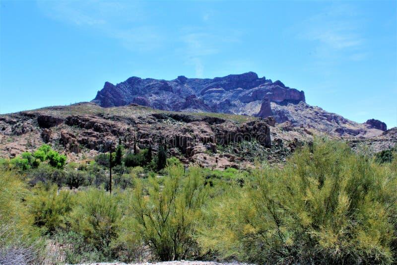 Boyce Thompson Arboretum State Park, supérieur, Arizona Etats-Unis images libres de droits