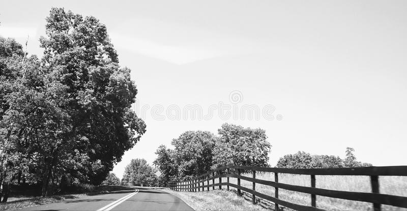 Boyce, Zwart-wit Virginia - stock afbeelding
