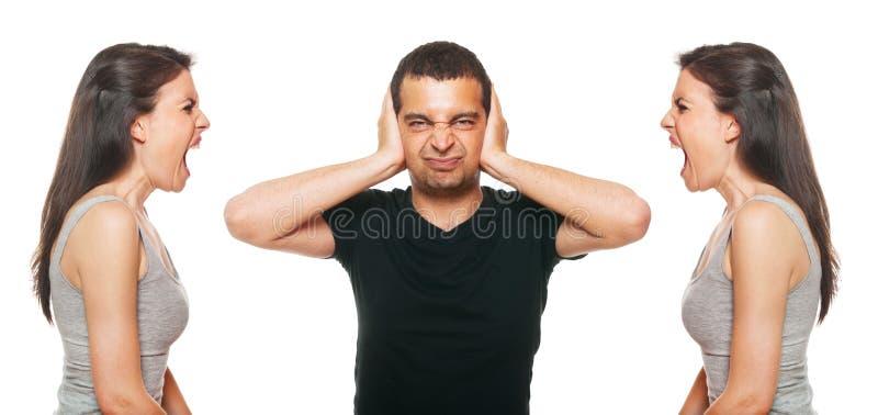Download Boyfriend Feeling Disturbed Stock Photo - Image: 25218800