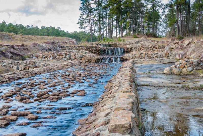 Boykin salta las cascadas foto de archivo libre de regalías