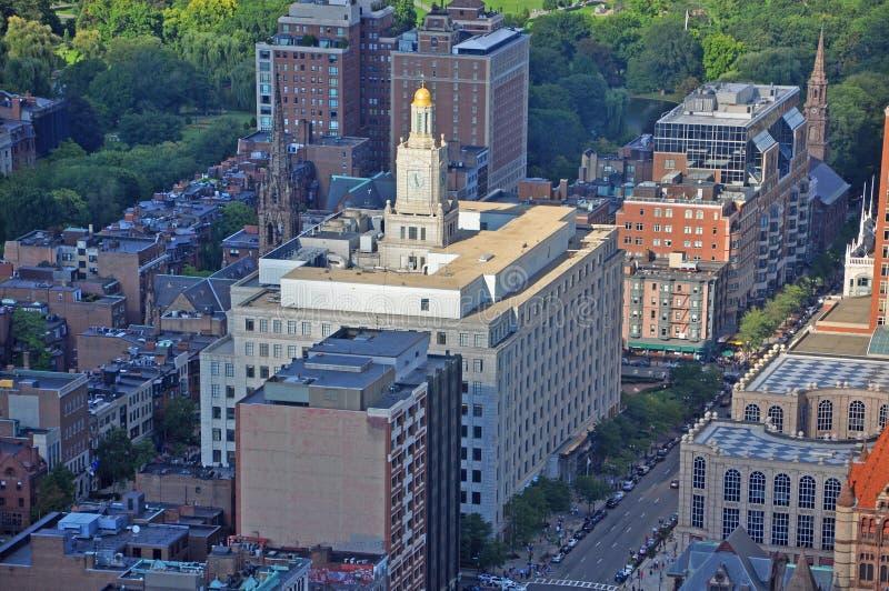 501 Boylston Gebäude, Boston, Massachusetts, USA lizenzfreies stockfoto