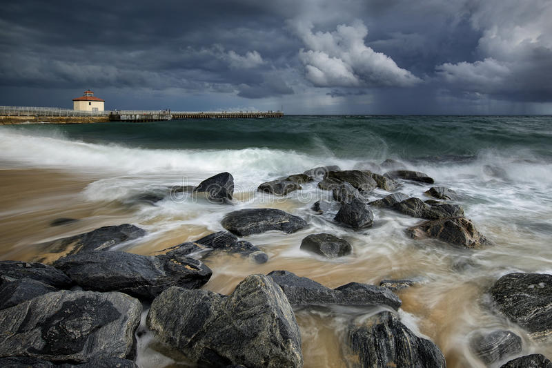 Boynton海滩入口 库存图片