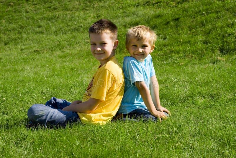 Boys stock photography