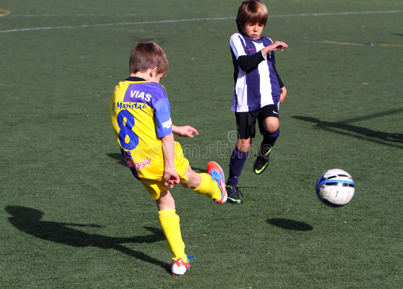 Download Boys On The Alicante City Youth Soccer Cup Editorial Image - Image of frolic, ball: 27991465