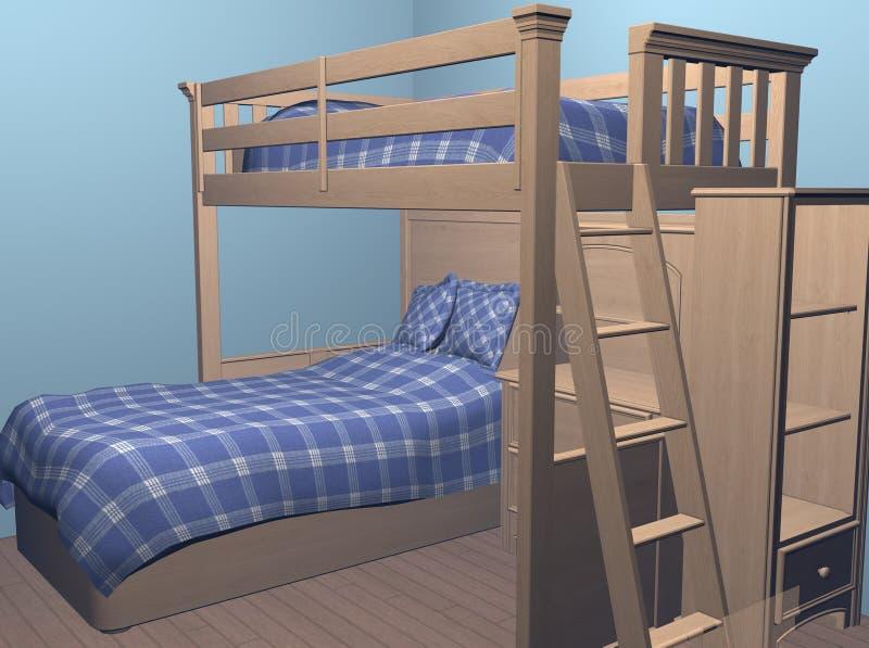 Boys Bedroom stock image
