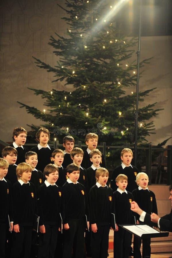 Boys choir royalty free stock photos