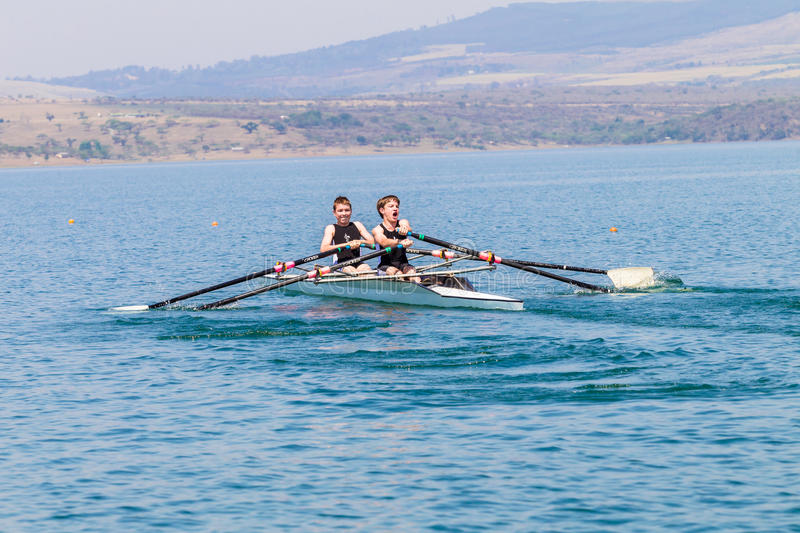 Download Regatta Rowing Teenagers Doubles Editorial Stock Photo - Image: 34321808