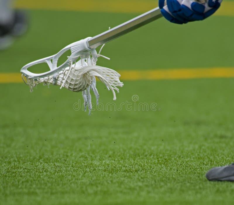 Boys Lacrosse Ground ball royalty free stock photos