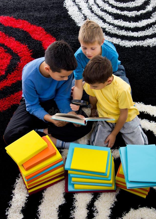 Download Boys learn stock image. Image of school, childhood, preschooler - 25963863