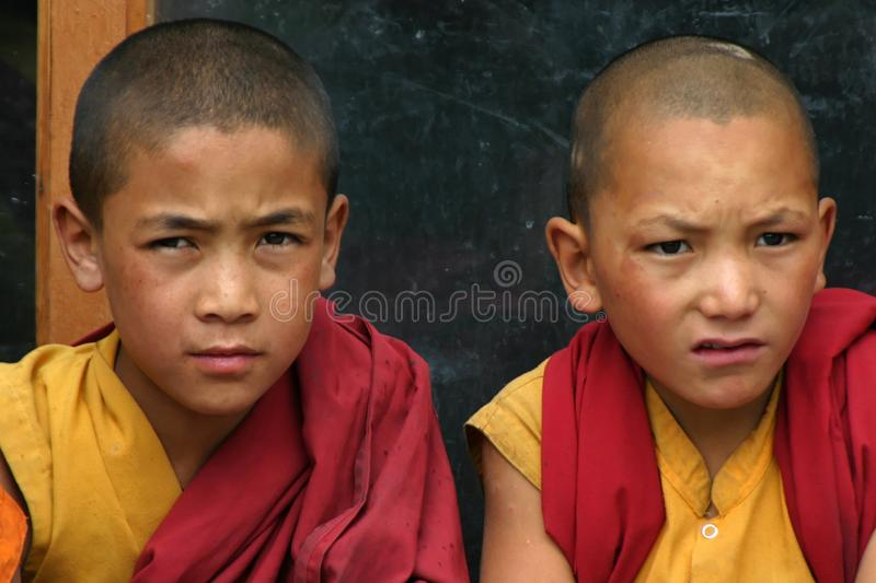 Download BOYS IN MONASTERY OF LADAKH Editorial Photo - Image: 12255861