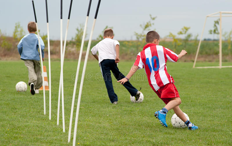 Download Boys  playing with a ball stock photo. Image of child - 23877254