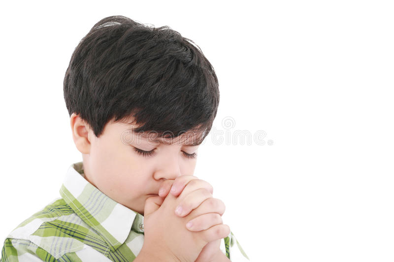 Download A Boys Prays Stock Images - Image: 21766404