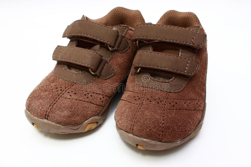 Boys shoes royalty free stock image