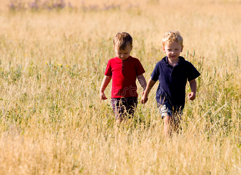 Download Boys walking stock photo. Image of cousins, kids, youth - 8501934
