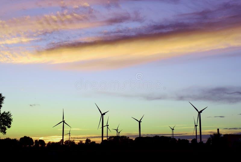 bozcaada fotografii zmierzch brać indyczy wiatraczki obraz stock