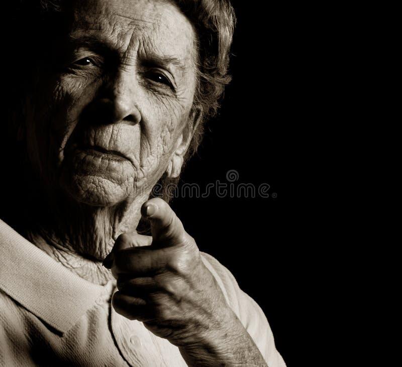 Boze Grootmoeder stock afbeeldingen