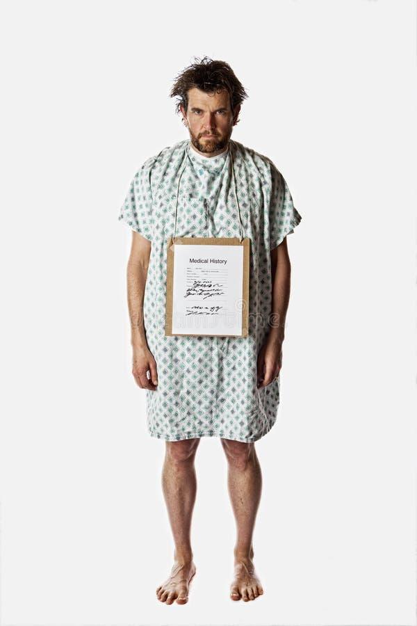 Boze het ziekenhuispatiënt royalty-vrije stock foto's