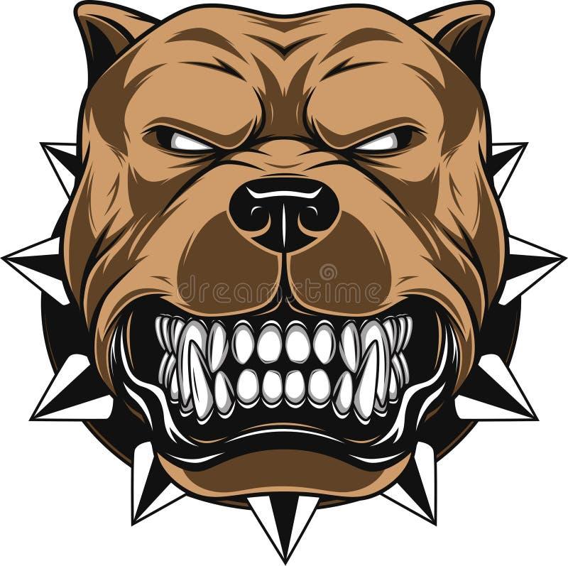 Boze Hond vector illustratie