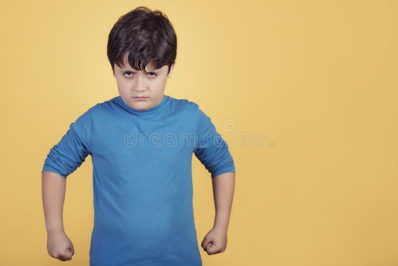 Boze jongen royalty-vrije stock foto's