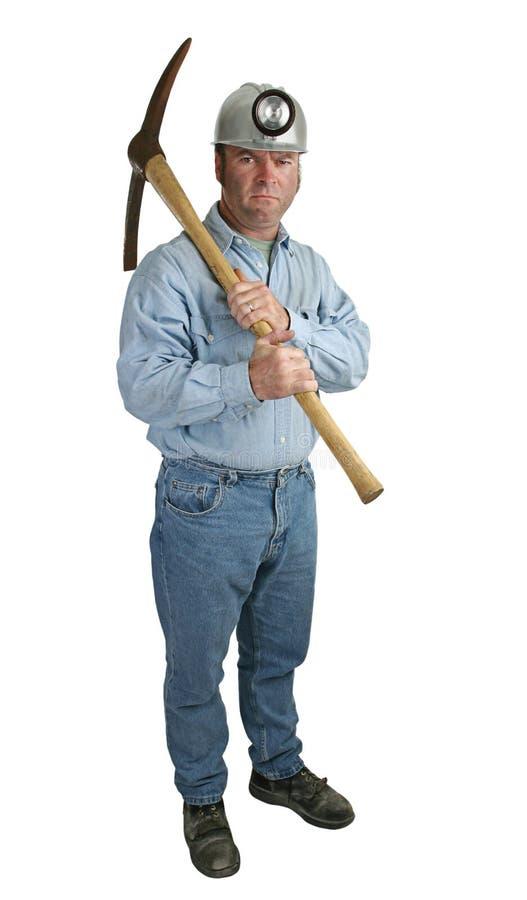Boze Mijnwerker stock afbeelding