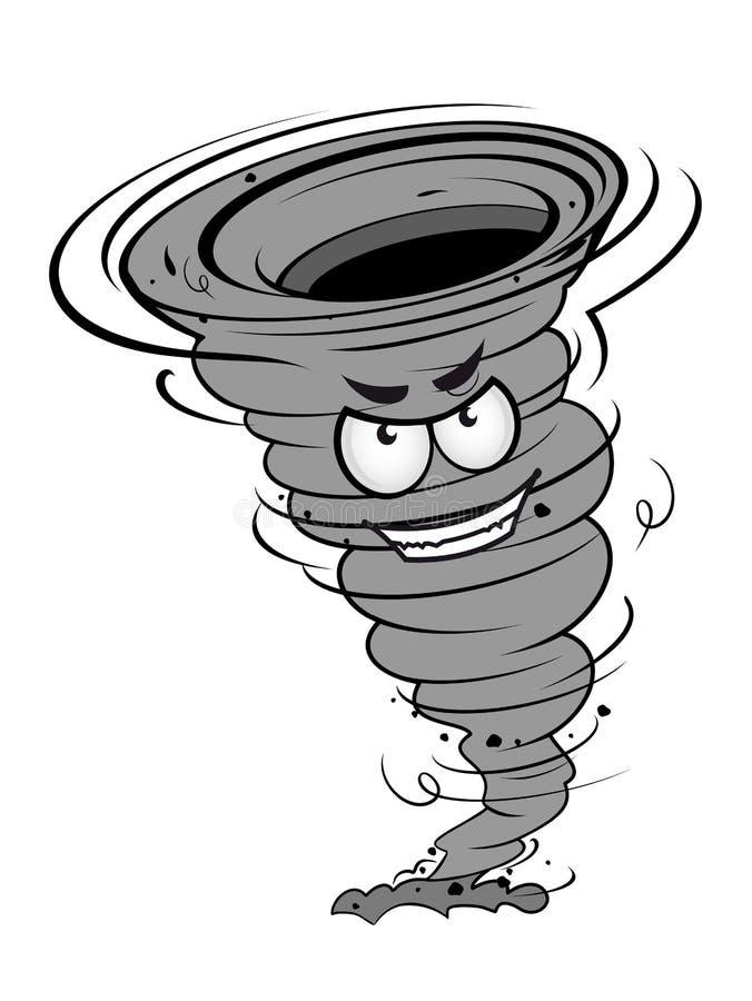 Boze orkaan vector illustratie