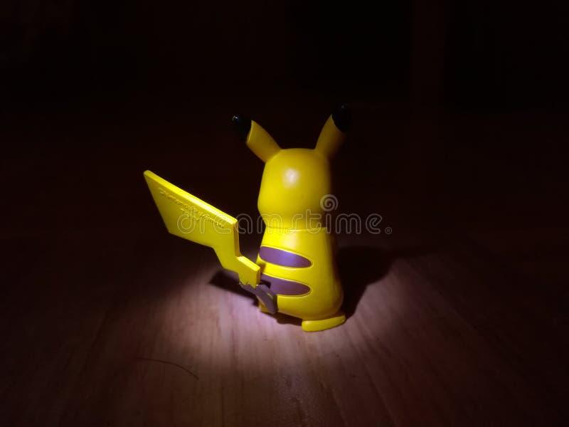Boze pikachu stock foto
