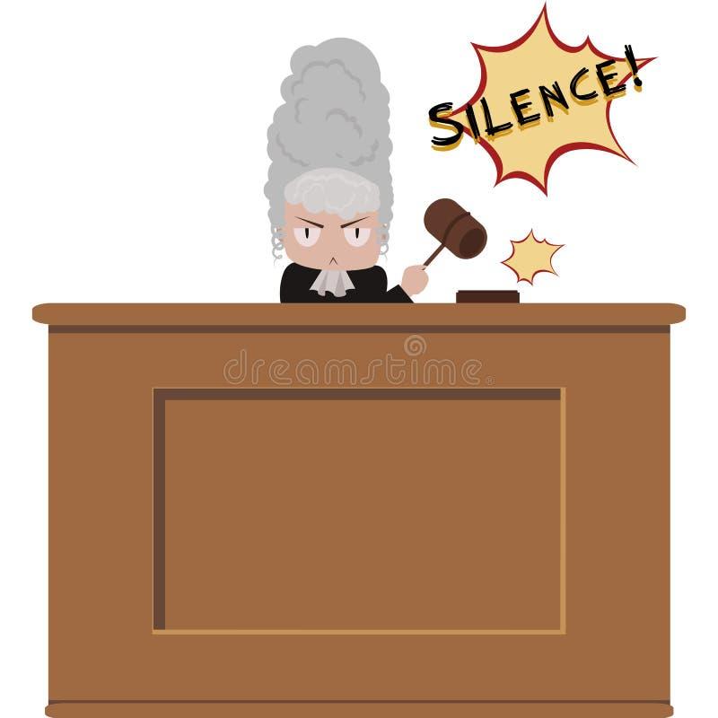 Boze rechter vector illustratie