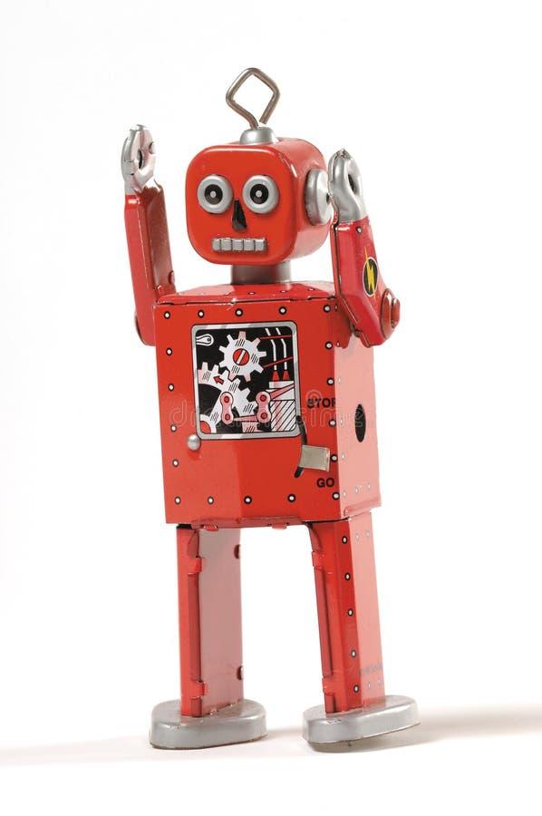 Boze robot royalty-vrije stock afbeelding