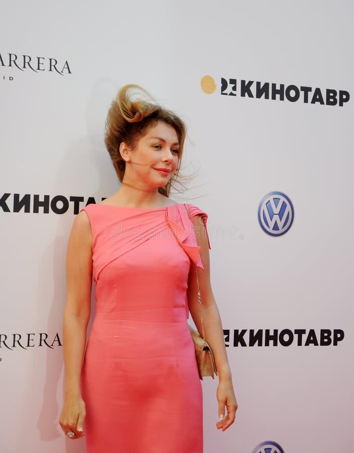 Bozena Rynska, columnista imágenes de archivo libres de regalías