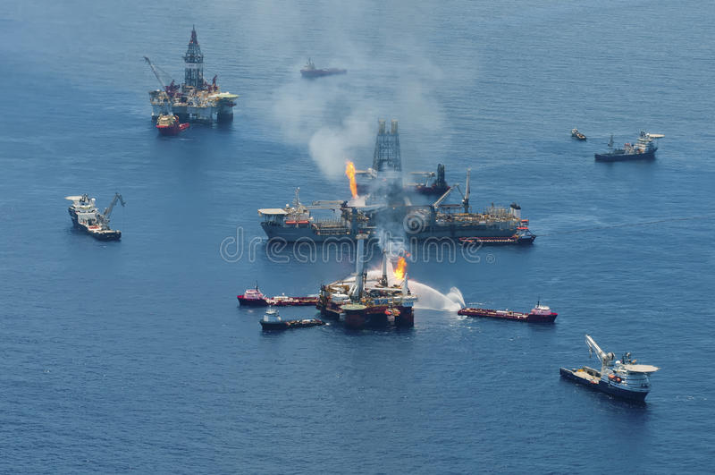 BP Deepwater Horizon Oil Spill stock photo