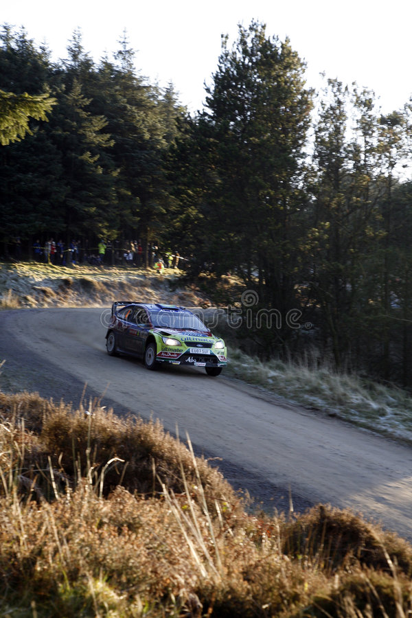 Download BP Ford Team At Wales Rally GB 2008 Editorial Image - Image of auto, vehicle: 7391470