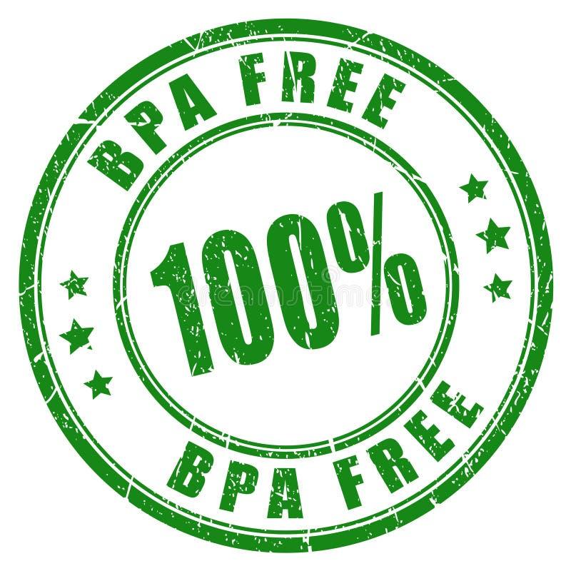 Bpa geben Stempel frei lizenzfreie abbildung