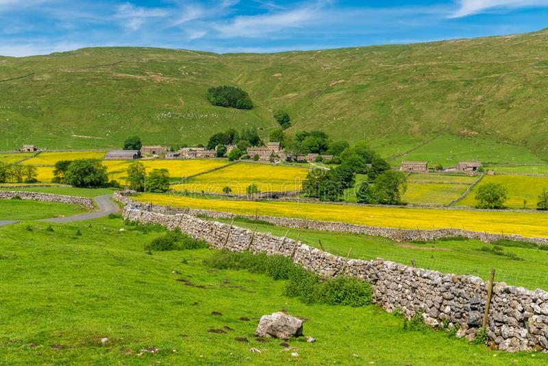 Brânquia de Halton, North Yorkshire, Inglaterra, Reino Unido imagens de stock