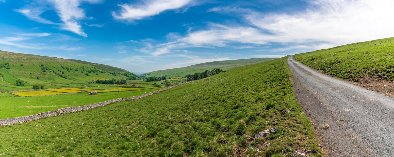 Brânquia de Halton, North Yorkshire, Inglaterra, Reino Unido fotos de stock royalty free