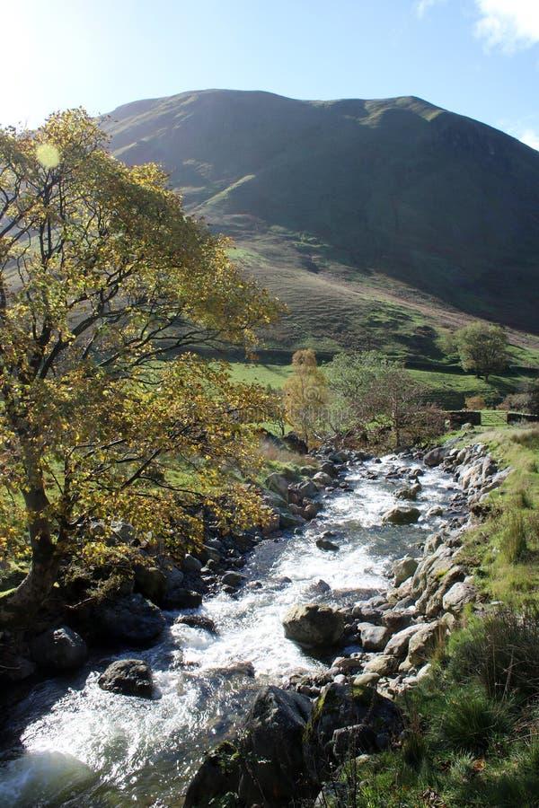 Brânquia de Hayeswater e Hartsop Dodd, Cumbria Reino Unido fotos de stock