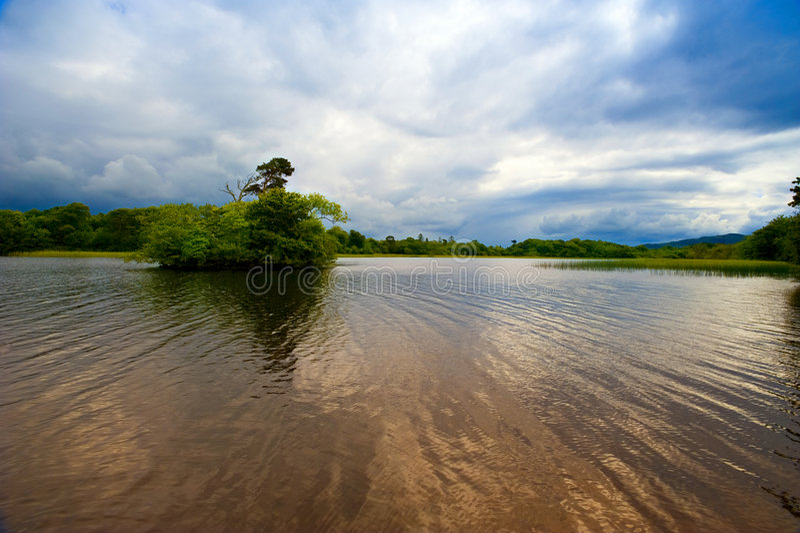 Brânquia do Lough foto de stock royalty free