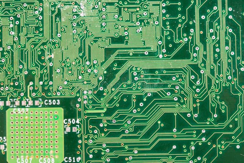 Bräde för elektronisk strömkrets royaltyfri bild