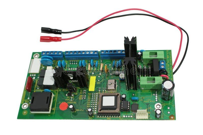 bräden circuit elektroniskt arkivbild