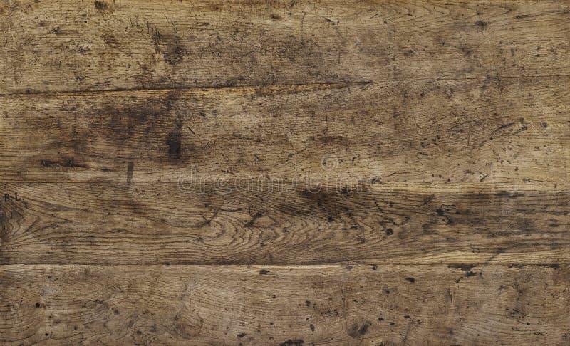 Bräden för brun överkant för tabellöverkant arkivfoto