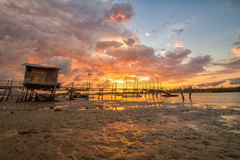 Bränna av himlar fotografering för bildbyråer