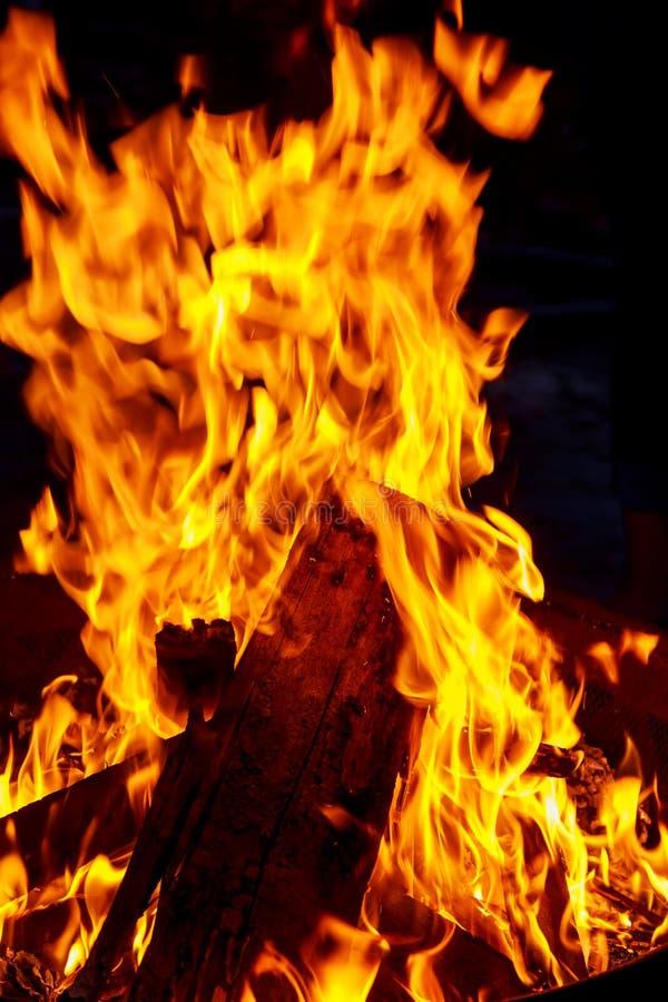 Brännande vedträförberedelse av brandträ för fyrpannan med bränningträ fotografering för bildbyråer