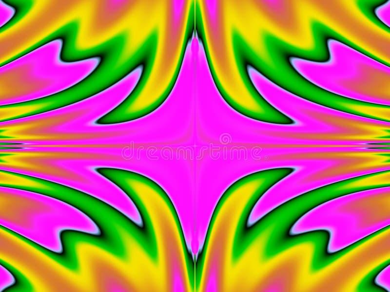 brännhett humör vektor illustrationer