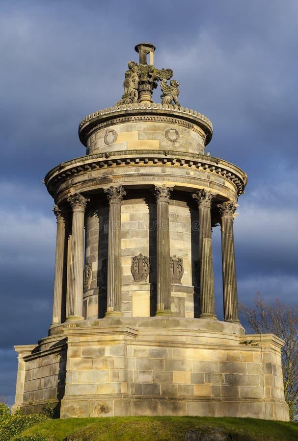 Brännskadamonumentet i Edinburg arkivfoton