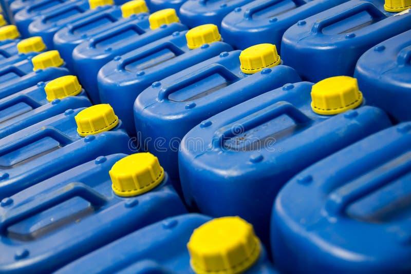 Bränslebehållare royaltyfria foton
