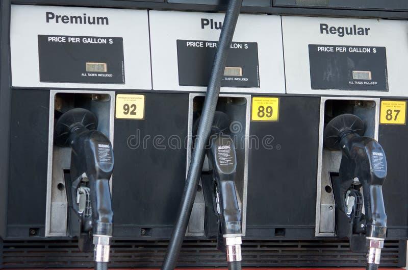 bränslegaspumpar arkivfoton