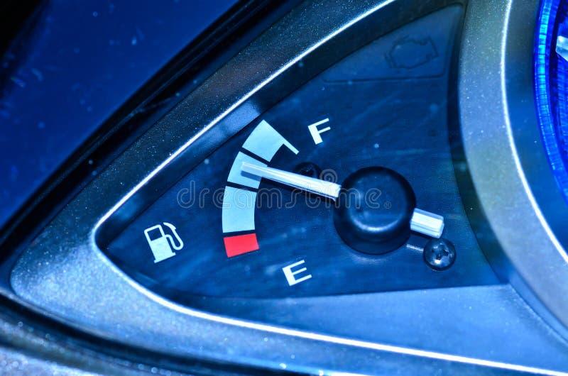 Bränslemått arkivfoto