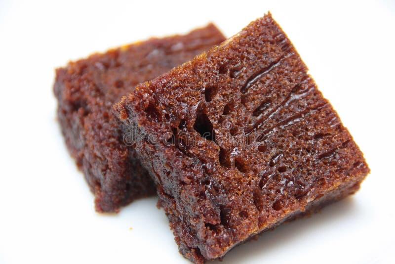 bränt cakesocker royaltyfri fotografi