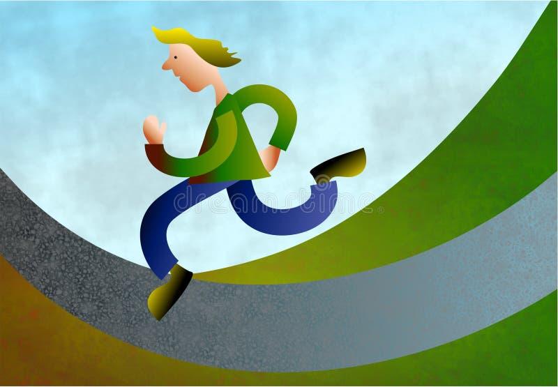 brådska vektor illustrationer